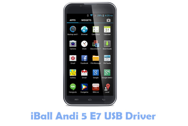 Download iBall Andi 5 E7 USB Driver