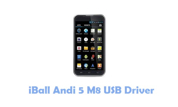 Download iBall Andi 5 M8 USB Driver