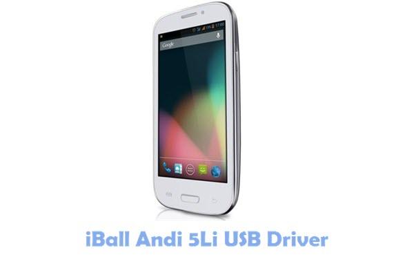 Download iBall Andi 5Li USB Driver