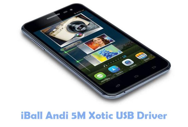Download iBall Andi 5M Xotic USB Driver