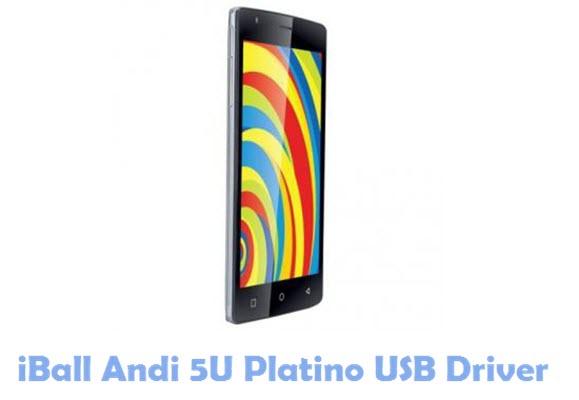 Download iBall Andi 5U Platino USB Driver