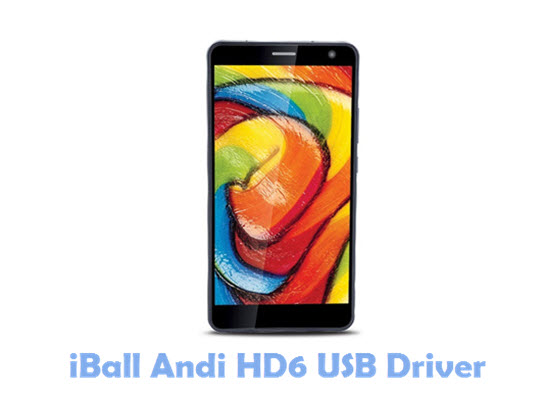 iBall Andi HD6 USB Driver