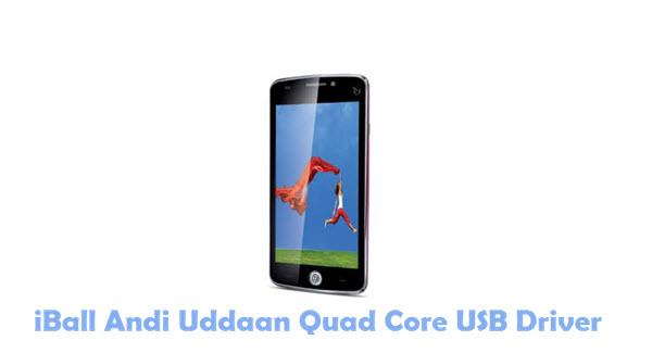 Download iBall Andi Uddaan Quad Core USB Driver