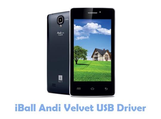 Download iBall Andi Velvet USB Driver