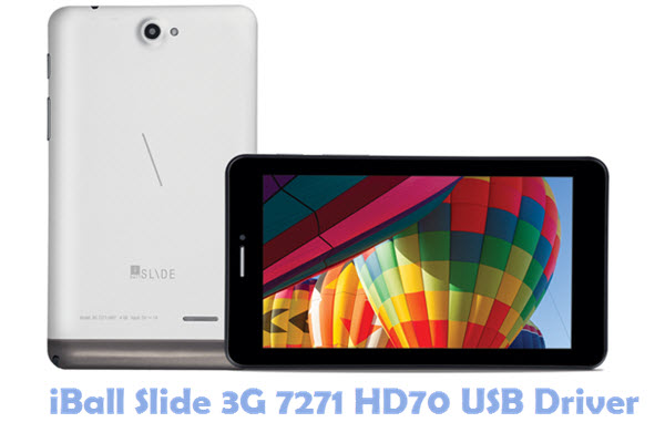 Download iBall Slide 3G 7271 HD70 USB Driver