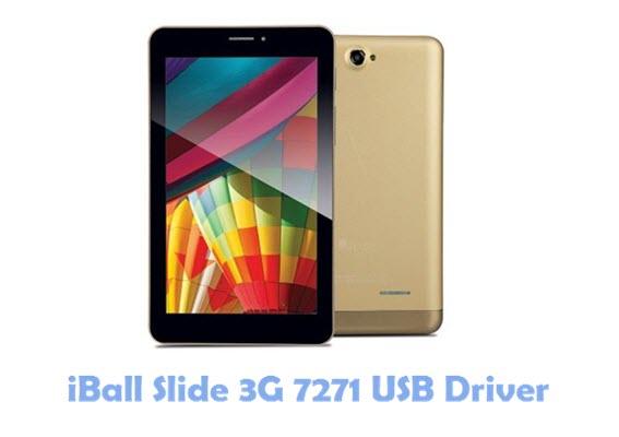 Download iBall Slide 3G 7271 USB Driver
