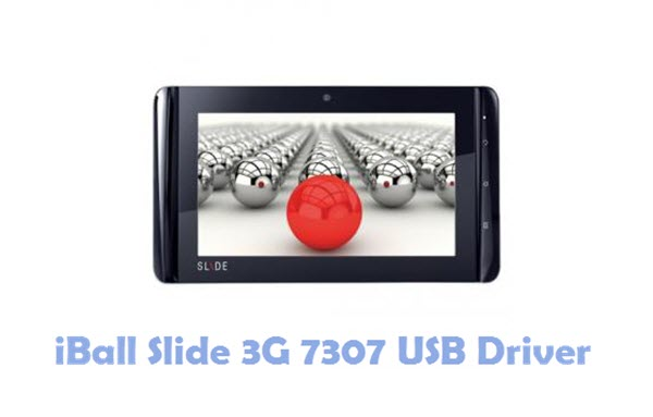 Download iBall Slide 3G 7307 USB Driver