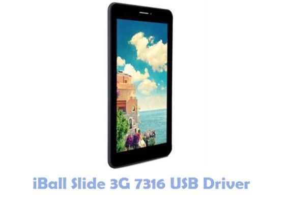 Download iBall Slide 3G 7316 USB Driver