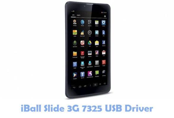 Download iBall Slide 3G 7325 USB Driver