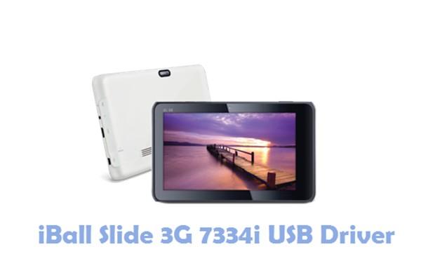 Download iBall Slide 3G 7334i USB Driver
