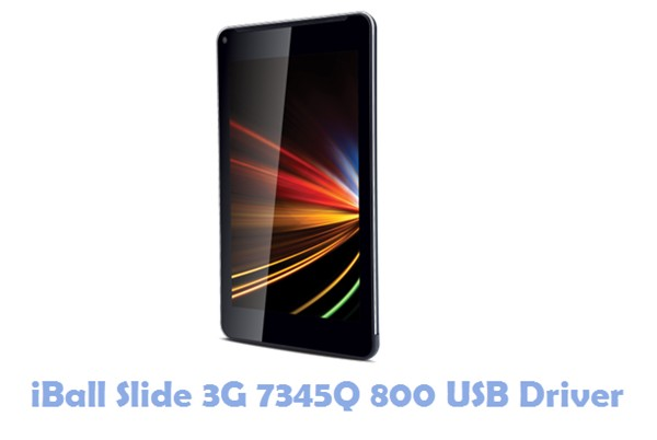 Download iBall Slide 3G 7345Q 800 USB Driver