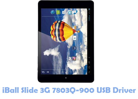 Download iBall Slide 3G 7803Q-900 USB Driver