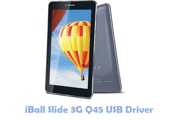 iBall Slide 3G Q45 USB Driver