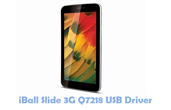 Download iBall Slide 3G Q7218 USB Driver