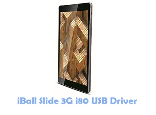 Download iBall Slide 3G i80 USB Driver