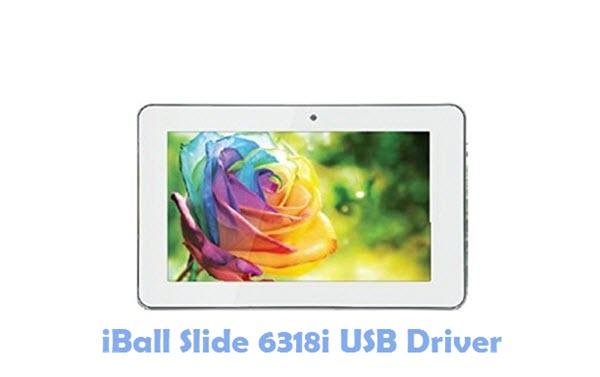 Download iBall Slide 6318i USB Driver