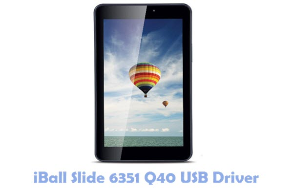 Download iBall Slide 6351 Q40 USB Driver