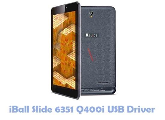 Download iBall Slide 6351 Q400i USB Driver