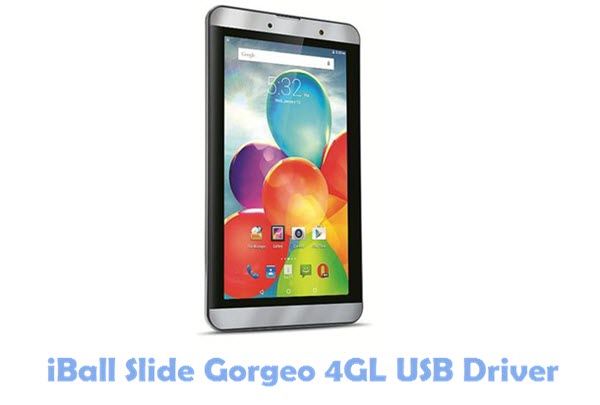 Download iBall Slide Gorgeo 4GL USB Driver