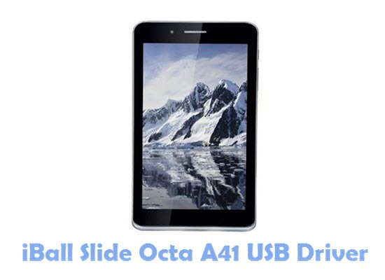 Download iBall Slide Octa A41 USB Driver