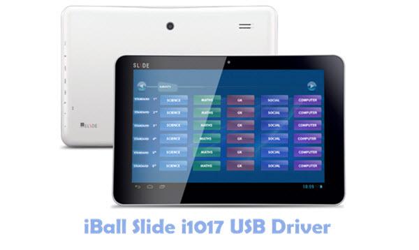 Download iBall Slide i1017 USB Driver