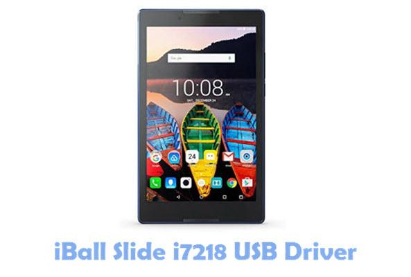 Download iBall Slide i7218 USB Driver
