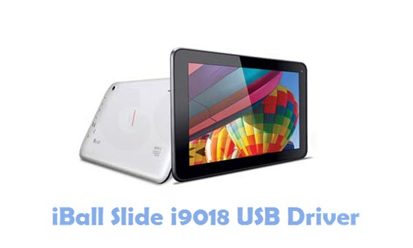 Download iBall Slide i9018 USB Driver