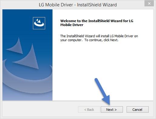 LG Driver Installation Wizard