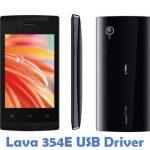 Lava 354E USB Driver