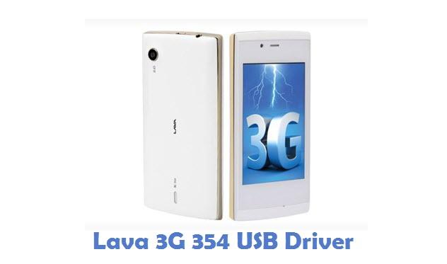 Lava 3G 354 USB Driver