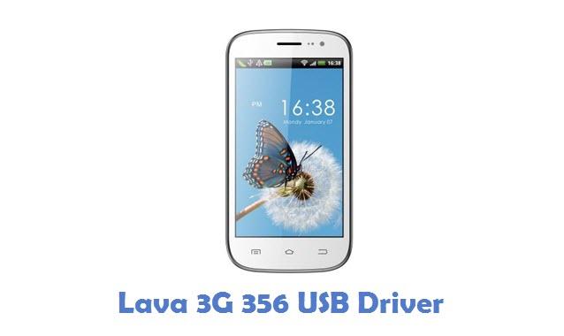Lava 3G 356 USB Driver