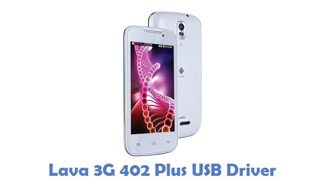 Lava 3G 402 Plus USB Driver