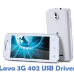 Lava 3G 402 USB Driver