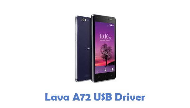 Lava A72 USB Driver