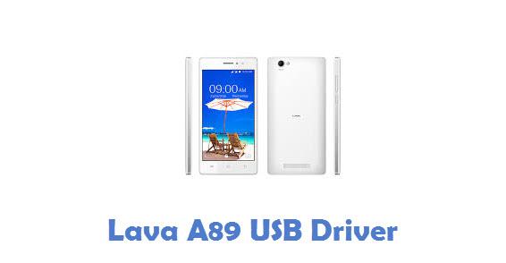 Lava A89 USB Driver