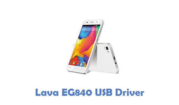 Lava EG840 USB Driver