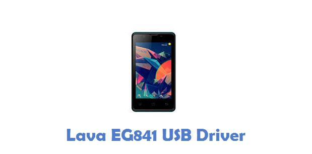 Lava EG841 USB Driver