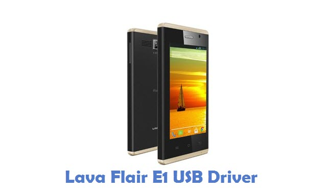Lava Flair E1 USB Driver