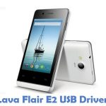 Lava Flair E2 USB Driver