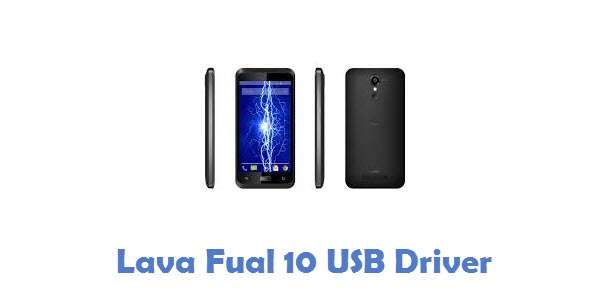 Lava Fuel 10 USB Driver
