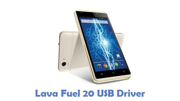 Lava Fuel 20 USB Driver