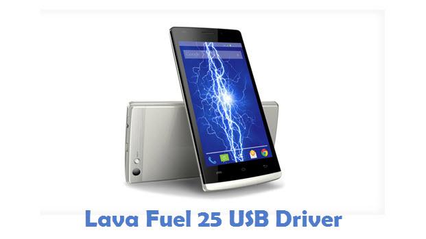 Lava Fuel 25 USB Driver