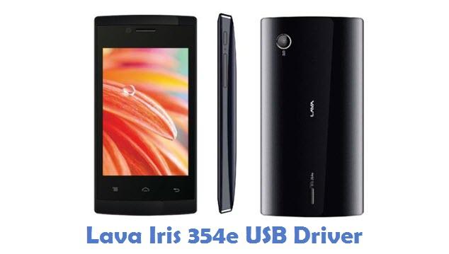 Lava Iris 354e USB Driver