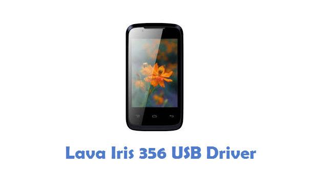 Lava Iris 356 USB Driver