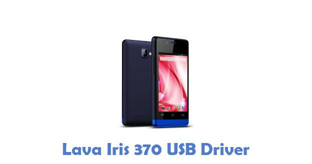 Lava Iris 370 USB Driver