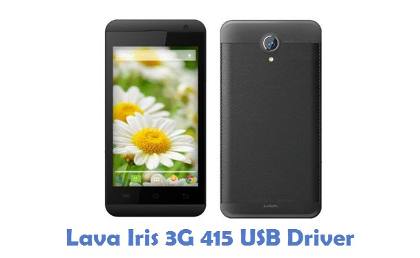 Lava Iris 3G 415 USB Driver