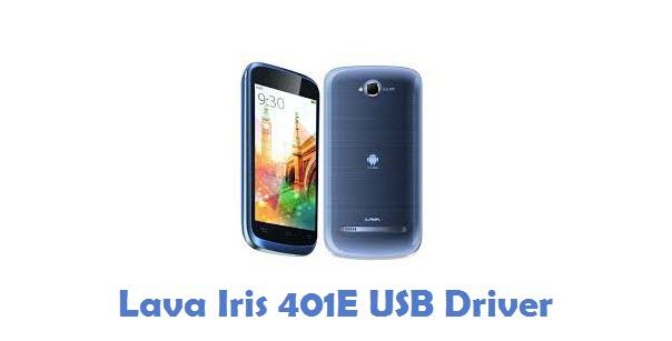 Lava Iris 401E USB Driver