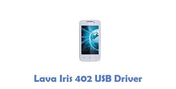 Lava Iris 402 USB Driver