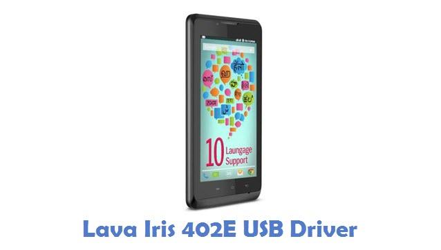 Lava Iris 402E USB Driver
