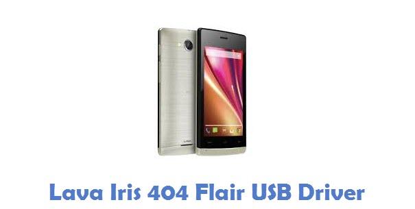 Lava Iris 404 Flair USB Driver